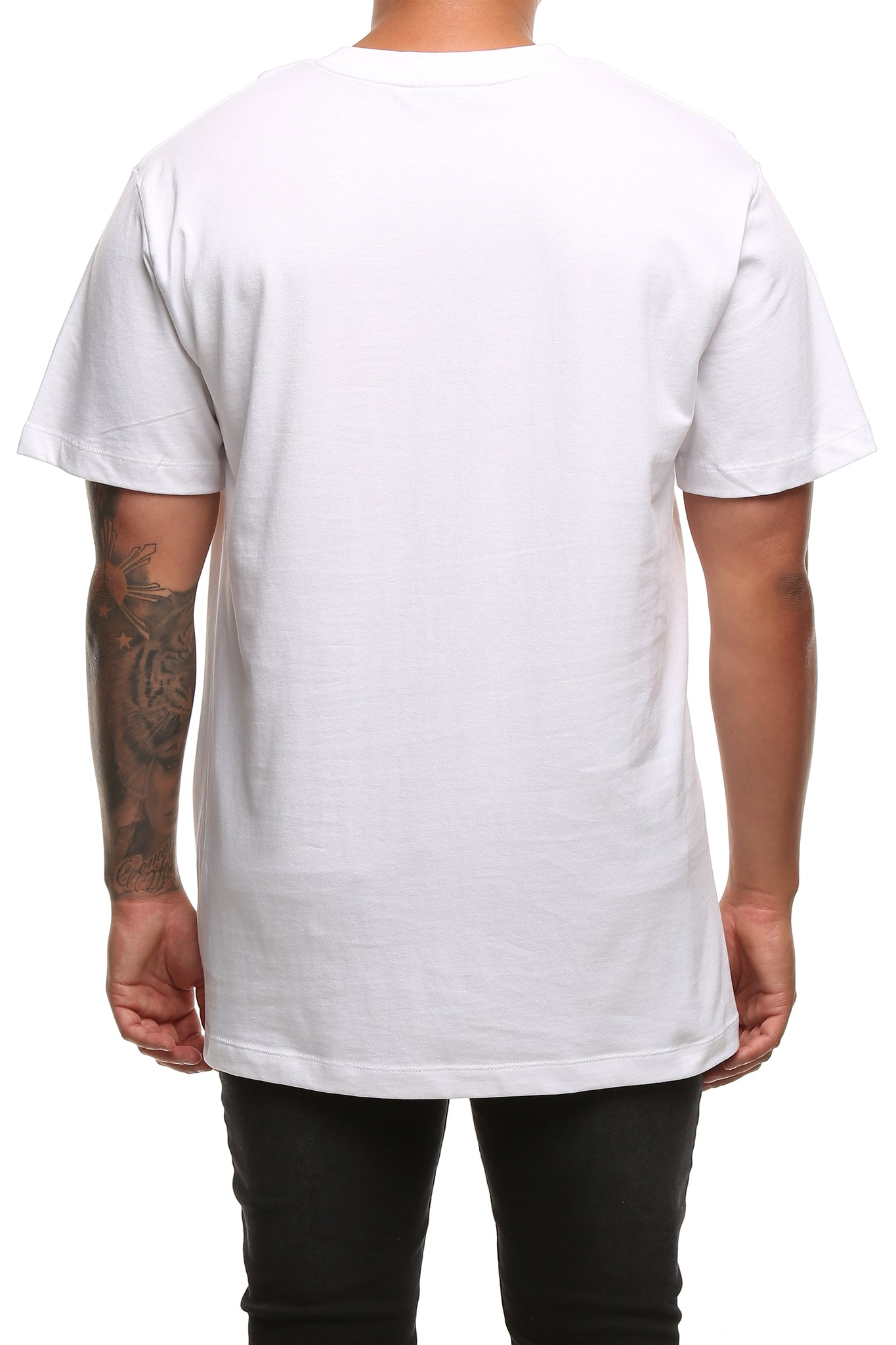 RGF X LY TIGER SS TEE - White