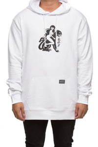 RGF X LY PANTHER HOOD - White