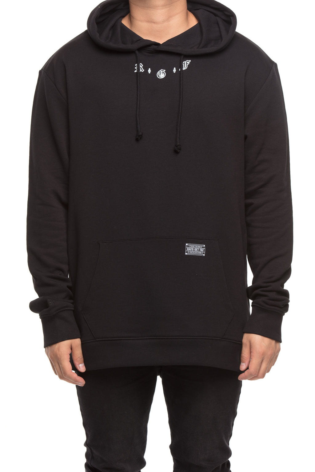 RGF X LY BUTTERFLY HOOD - Black