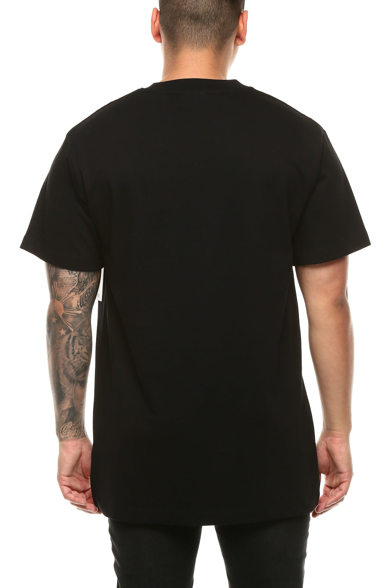 RGF X H.S FENCED IN SS TEE - Black