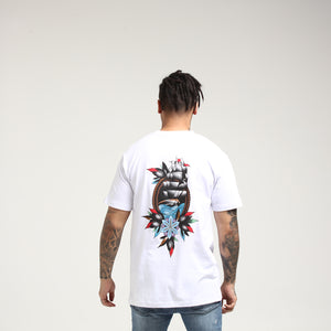 RGF X KJ SAIL AWAY TEE - White