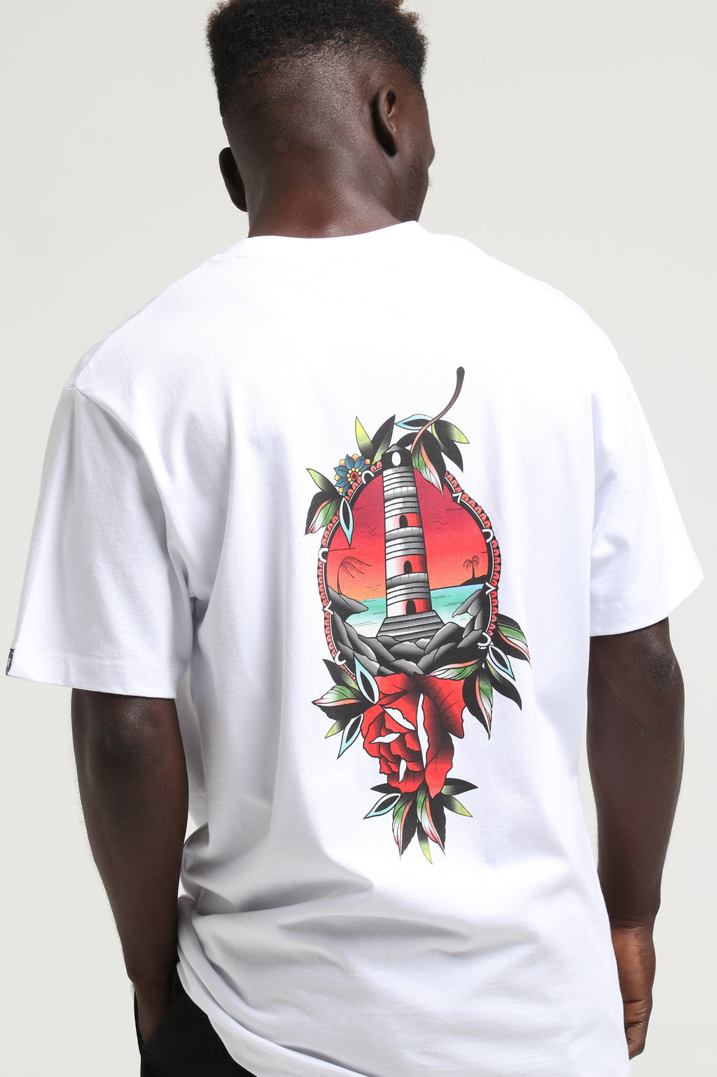 RGF X KJ LIGHT IT UP TEE - White