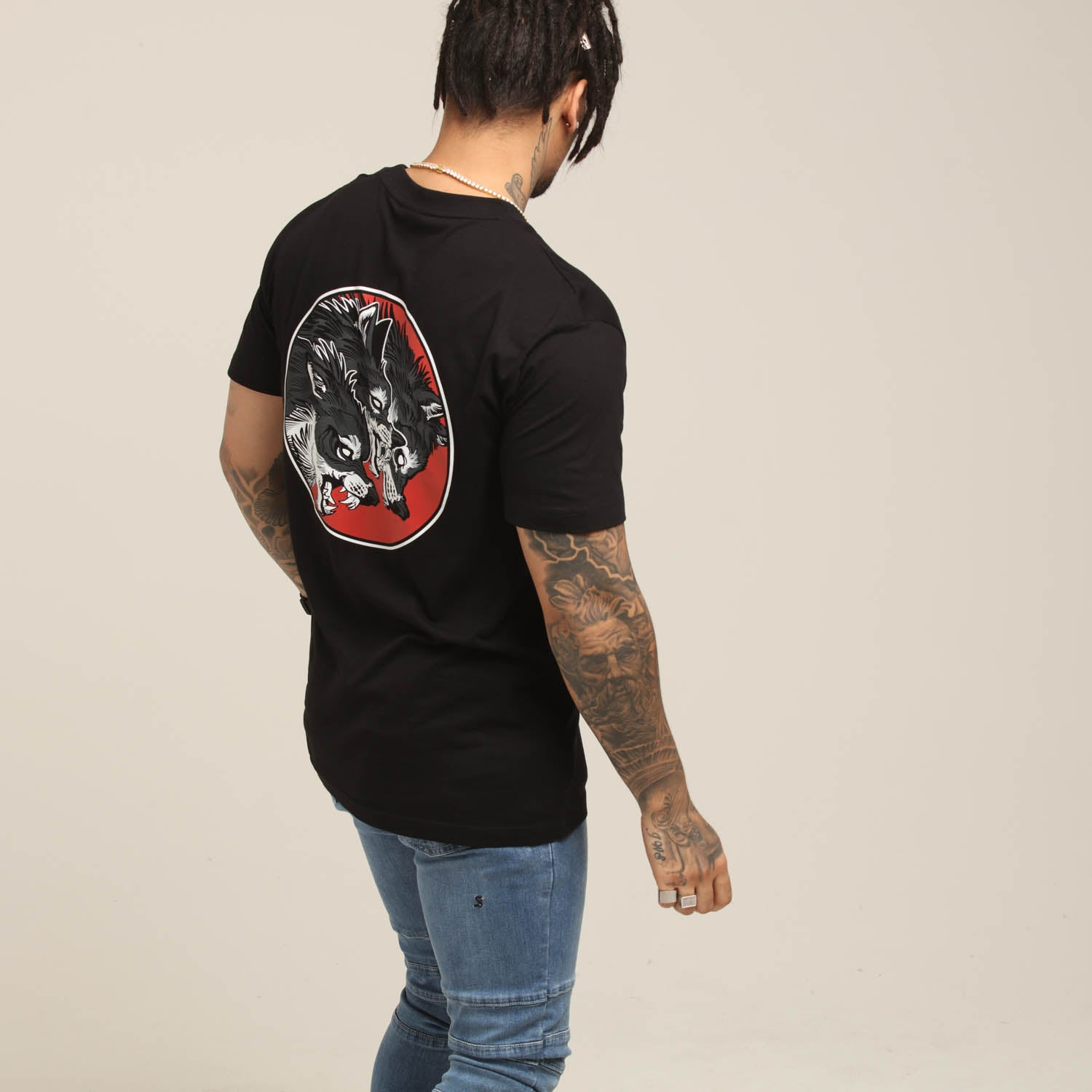 RGF x CL THE PACK TEE - Black