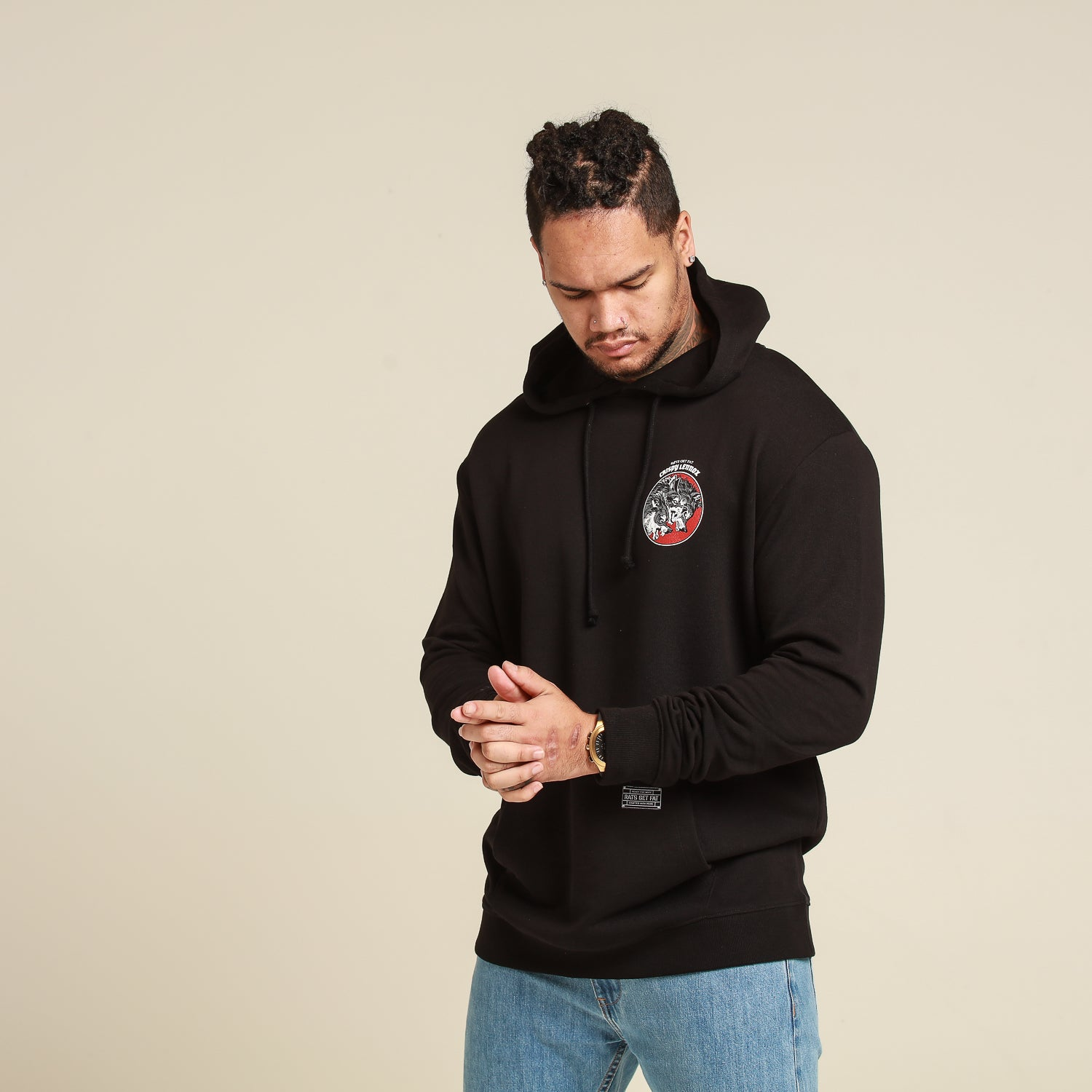 CL THE PACK HOOD - Black