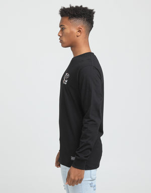 ATTACK LS TEE - Black