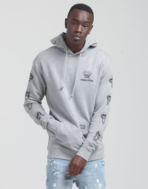CL BETRAYAL HOOD - Grey