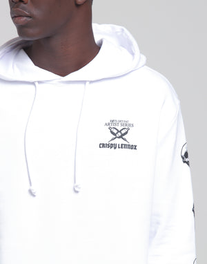 CL BETRAYAL HOOD - White