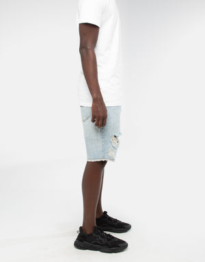 ANGUISH SHORT - Vintage Blue