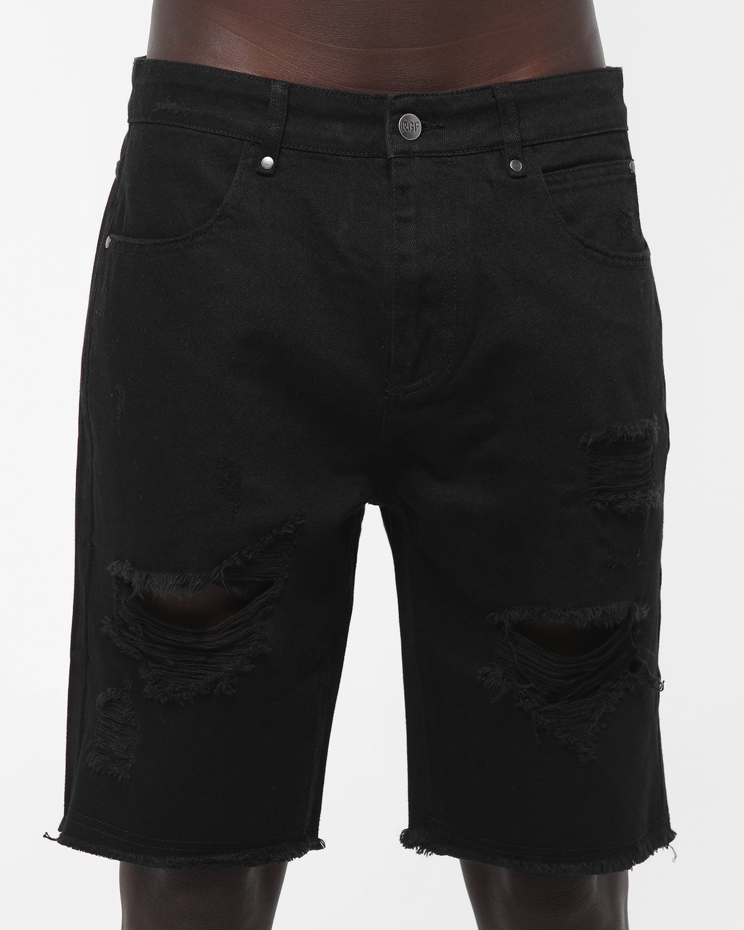 Rats Get Fat Anguish Short Vintage Black