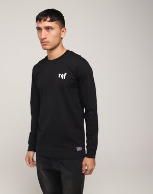 CHRIST LS TEE - Black