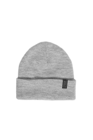 LOGO BEANIE - Grey Heather