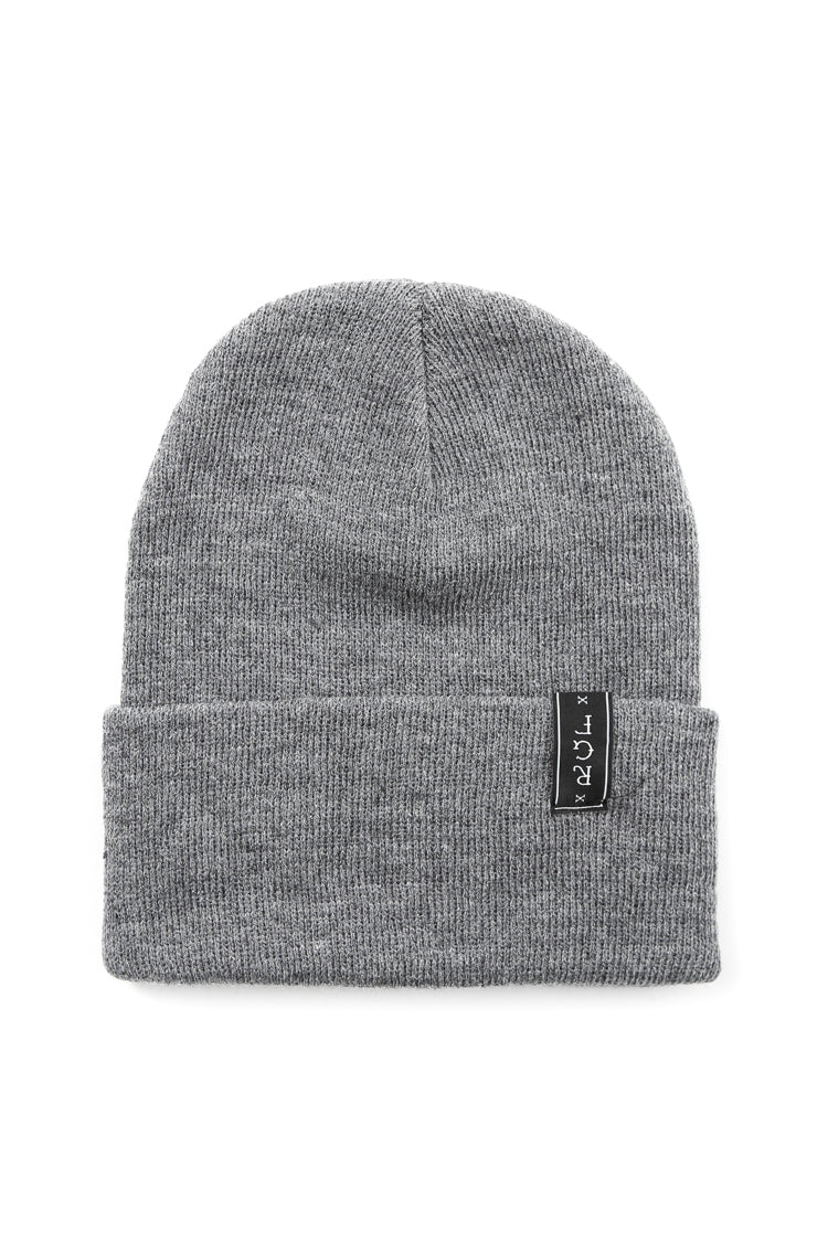 NO CIGAR BEANIE - Grey/White