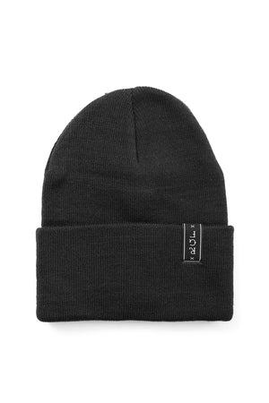 NO CIGAR BEANIE - Black/Yellow/Bl