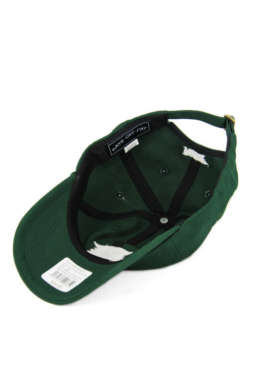 TIME BOMB STRAPBACK - Forest Green
