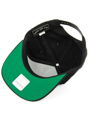 HAND THAT FEEDS SNAPBACK - Black