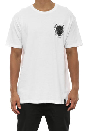 AS HANNYA TEE - White