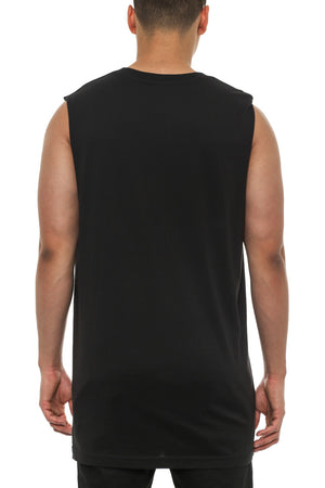 PANTHER MUSCLE TANK - Black