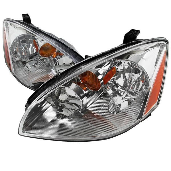 02-05 NISSAN ALTIMA EURO HEADLIGHT CHROME HOUSING