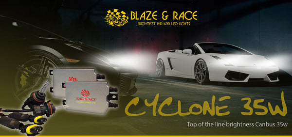 Blaze & Race 35w CANBUS Cyclone HID Kit