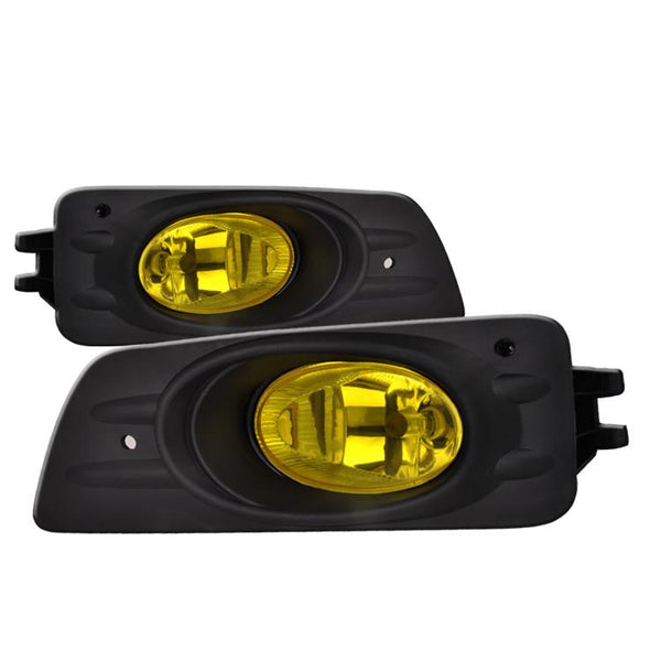 06-07 HONDA ACCORD 4 DOOR OEM STYLE FOG LIGHTS YELLOW