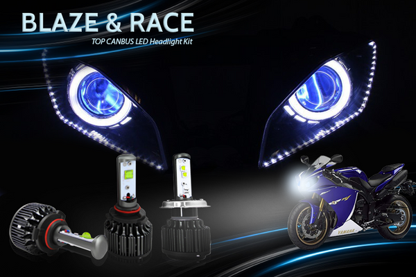 Blazerion Motorcycle LED Headlight Kit