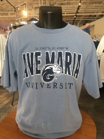 Ave Maria University Comfort Colors Ringspun Short Sleeve T-Shirt