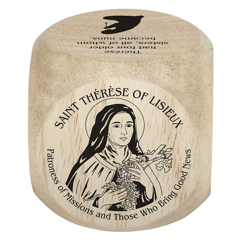 St. Therese Prayer Cube