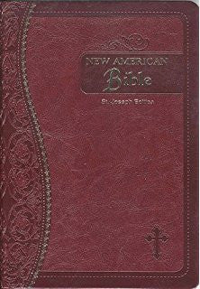 New American Bible St. Joseph Edition Medium Burgandy Leather