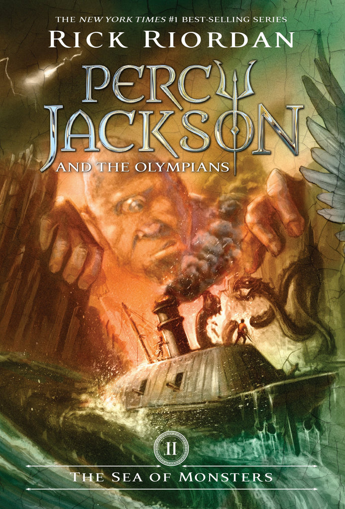 Percy Jackson and the Olympians, Book II: The Sea of Monsters (Rick Riordan)