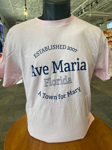 A Town for Mary - Youth T-shirt - Pink -Tultex