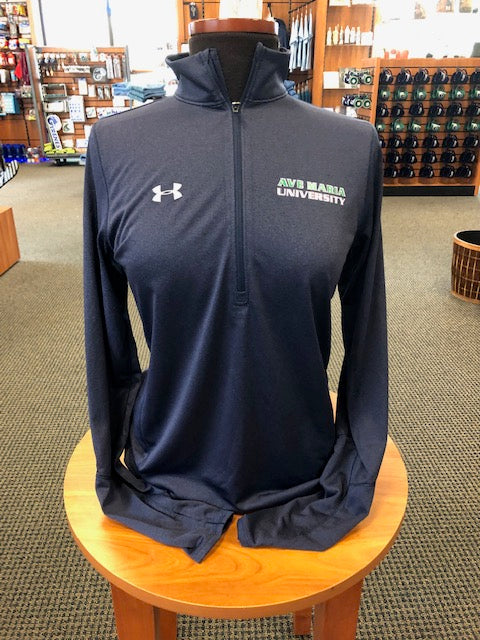 Under Armor Ave Maria University Women Novelty 1/4 Midnight Navy