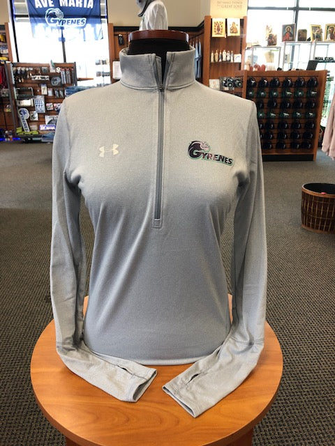 Under Armour Women's Steel Novelty 1/4 Zip