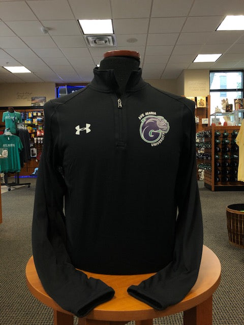 Under Armour Locker 1/4 Zip with Ave Maria University and G Dog