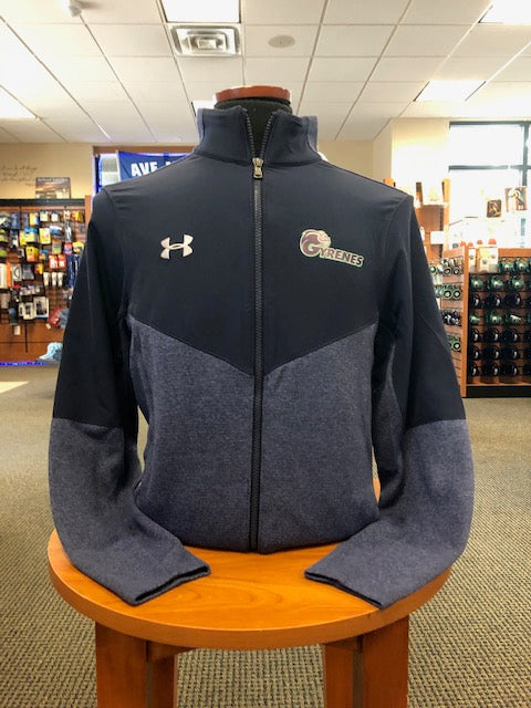 Under Armour Ave Maria Gyrenes Navy Full Zip Fleece Jacket