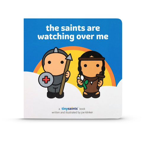 "Tiny Saints ""The Saints are Watching Over Me"" Board Book"