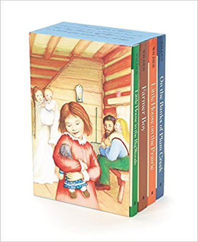 Little House 4 Book Box Set (Laura Ingalls Wilder)