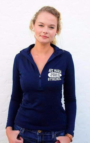 Ave Maria 2003 Gyrenes Quarter Zip by Russell Athletics (Women's)