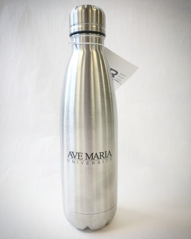 Stainless Steel Vacuum Bottle (17 oz.) w/ Ave Maria University by PURE