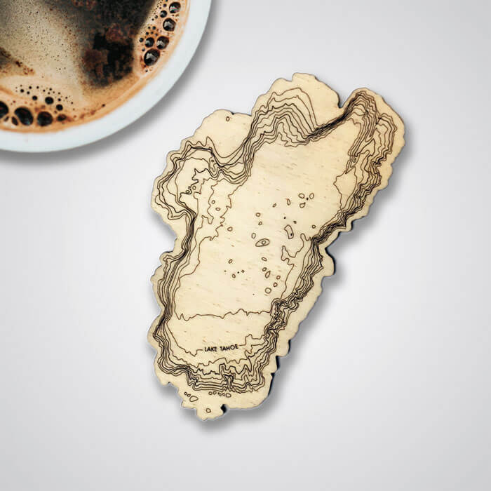 SML creates unique custom housewares featuring topography from the places you love.