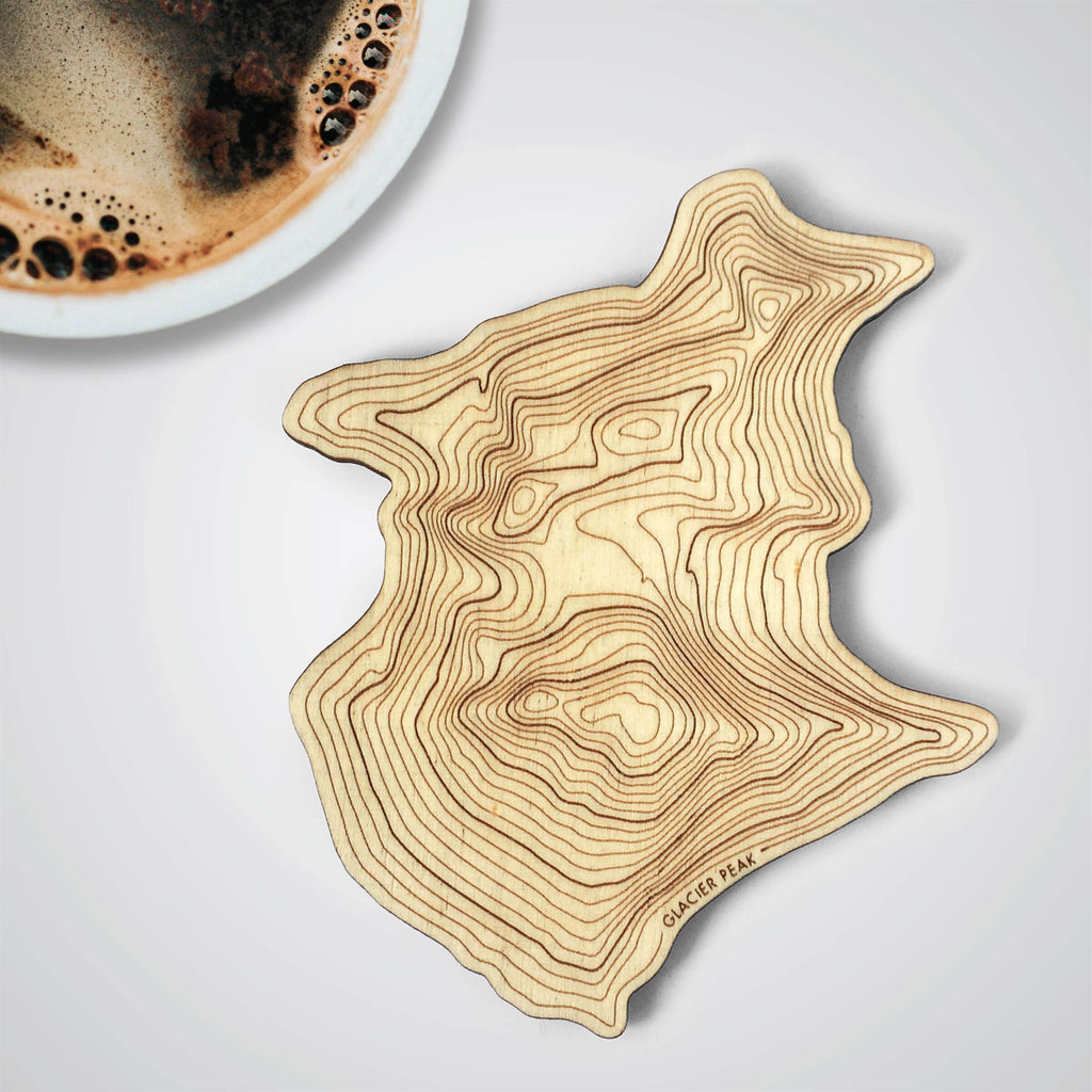 Glacier Peak Topography Coaster - Single