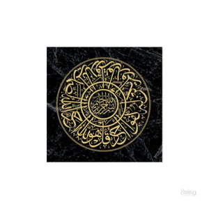030 Gold Black Marble Series (5 Types)