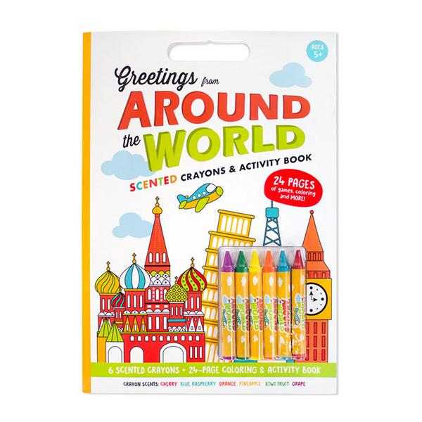 Scented Activity Colouring Book