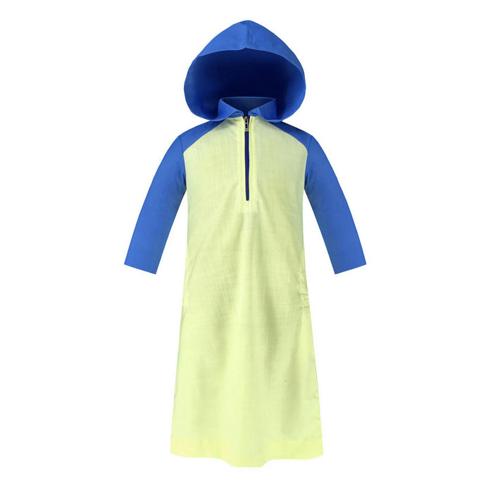 Toobaa Boys Hooded Jubah – Citrus