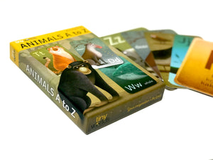 Animal A to Z Flashcards
