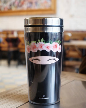 Niqabie Flower (Stainless Steel) Tumbler