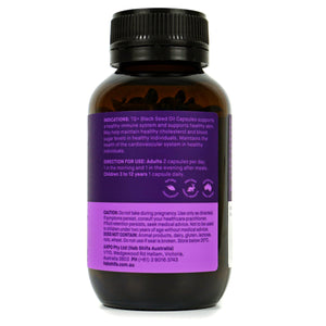 Hab Shifa TQ+ Activated Black Seed Oil - Cold Pressed Softgel