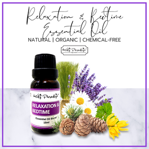 Relaxation & Bedtime Essential Oil (15ml) (KP)