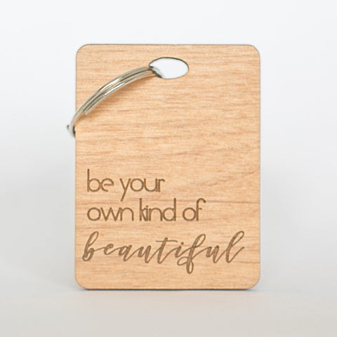 Beauty Keyring