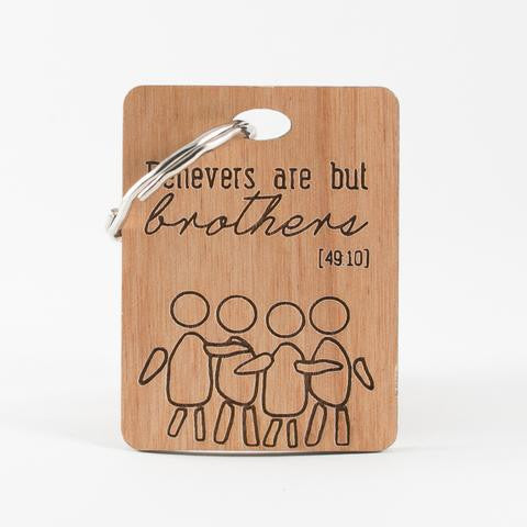 Brothers Keyring