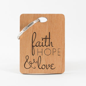Faith Keyring